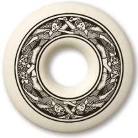 Divine Couple Annulus Porcelain Necklace