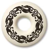 Celtic Dog Annulus Porcelain Necklace