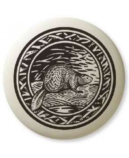 Beaver Pathfinder Animal Totem Porcelain Necklace at Mystic Convergence Metaphysical Supplies, Metaphysical Supplies, Pagan Jewelry, Witchcraft Supply, New Age Spiritual Store