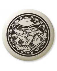 American Bullfrog Pathfinder Animal Totem Porcelain Necklace Mystic Convergence Magical Supplies Wiccan Supplies, Pagan Jewelry, Witchcraft Supplies, New Age Store