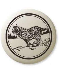 Bobcat Pathfinder Animal Totem Porcelain Necklace Mystic Convergence Metaphysical Supplies Metaphysical Supplies, Pagan Jewelry, Witchcraft Supply, New Age Spiritual Store
