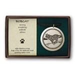 Bobcat Pathfinder Animal Totem Porcelain Necklace at Mystic Convergence Metaphysical Supplies, Metaphysical Supplies, Pagan Jewelry, Witchcraft Supply, New Age Spiritual Store