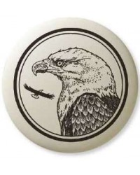 Bald Eagle Pathfinder Animal Totem Porcelain Necklace Mystic Convergence Metaphysical Supplies Metaphysical Supplies, Pagan Jewelry, Witchcraft Supply, New Age Spiritual Store