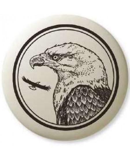 Bald Eagle Pathfinder Animal Totem Porcelain Necklace at Mystic Convergence Metaphysical Supplies, Metaphysical Supplies, Pagan Jewelry, Witchcraft Supply, New Age Spiritual Store