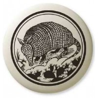 Armadillo Pathfinder Animal Totem Porcelain Necklace