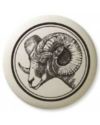 Big Horn Sheep Pathfinder Animal Totem Porcelain Necklace Mystic Convergence Metaphysical Supplies Metaphysical Supplies, Pagan Jewelry, Witchcraft Supply, New Age Spiritual Store