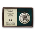 Big Horn Sheep Pathfinder Animal Totem Porcelain Necklace at Mystic Convergence Metaphysical Supplies, Metaphysical Supplies, Pagan Jewelry, Witchcraft Supply, New Age Spiritual Store