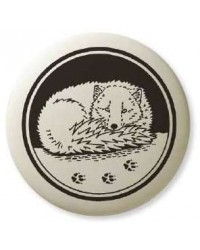 Artic Fox Pathfinder Animal Totem Porcelain Necklace Mystic Convergence Magical Supplies Wiccan Supplies, Pagan Jewelry, Witchcraft Supplies, New Age Store