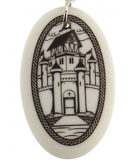 Camelot Arthurian Legends Porcelain Necklace at Mystic Convergence Metaphysical Supplies, Metaphysical Supplies, Pagan Jewelry, Witchcraft Supply, New Age Spiritual Store