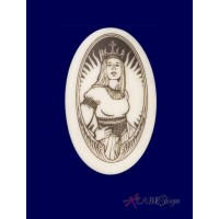 The Queen Arthurian Legends Porcelain Necklace