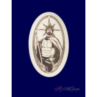King Arthurian Legends Porcelain Necklace