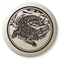 Alligator Pathfinder Animal Totem Porcelain Necklace