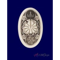 The Round Table Arthurian Legends Porcelain Necklace