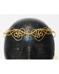 Iona Elaborate Twisted Bronze Circlet Mystic Convergence Metaphysical Supplies Metaphysical Supplies, Pagan Jewelry, Witchcraft Supply, New Age Spiritual Store