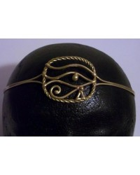 Eye of Ra Egyptian Bronze Circlet Mystic Convergence Metaphysical Supplies Metaphysical Supplies, Pagan Jewelry, Witchcraft Supply, New Age Spiritual Store