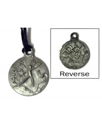 Aquarius Zodiac Pewter Necklace Mystic Convergence Metaphysical Supplies Metaphysical Supplies, Pagan Jewelry, Witchcraft Supply, New Age Spiritual Store