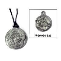 Pisces Zodiac Pewter Necklace