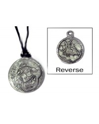 Pisces Zodiac Pewter Necklace Mystic Convergence Metaphysical Supplies Metaphysical Supplies, Pagan Jewelry, Witchcraft Supply, New Age Spiritual Store