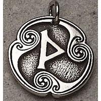 Wynn - Rune of Joy Pewter Talisman