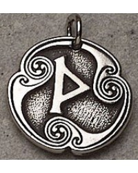 Wynn - Rune of Joy Pewter Talisman Mystic Convergence Metaphysical Supplies Metaphysical Supplies, Pagan Jewelry, Witchcraft Supply, New Age Spiritual Store