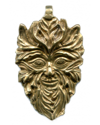 Green Man of the Woods God Pendant Mystic Convergence Metaphysical Supplies Metaphysical Supplies, Pagan Jewelry, Witchcraft Supply, New Age Spiritual Store
