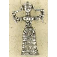 Snake Goddess Necklace