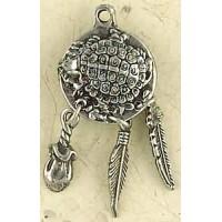 Turtle Animal Spirit Pewter Necklace