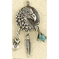 Eagle Animal Spirit Sterling Silver Necklace