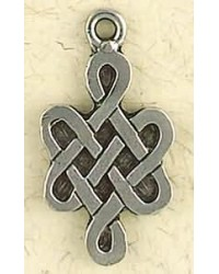 Eternity Knot Siddharta Necklace Mystic Convergence Metaphysical Supplies Metaphysical Supplies, Pagan Jewelry, Witchcraft Supply, New Age Spiritual Store