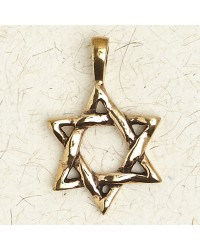 Star of David Bronze Necklace Mystic Convergence Metaphysical Supplies Metaphysical Supplies, Pagan Jewelry, Witchcraft Supply, New Age Spiritual Store