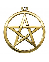 Bronze Pentacle Necklace Mystic Convergence Metaphysical Supplies Metaphysical Supplies, Pagan Jewelry, Witchcraft Supply, New Age Spiritual Store