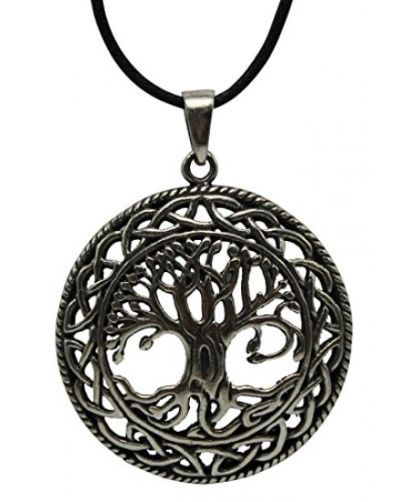 Celtic Tree of Life Pewter Necklace at Mystic Convergence Metaphysical Supplies, Metaphysical Supplies, Pagan Jewelry, Witchcraft Supply, New Age Spiritual Store