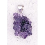 Amethyst Natural Druzy Pendant at Mystic Convergence Metaphysical Supplies, Metaphysical Supplies, Pagan Jewelry, Witchcraft Supply, New Age Spiritual Store