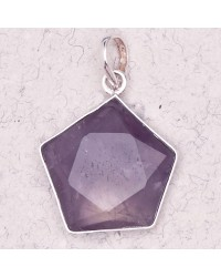 Amethyst 5 Point Prisma Star Pendant Mystic Convergence Magical Supplies Wiccan Supplies, Pagan Jewelry, Witchcraft Supplies, New Age Store