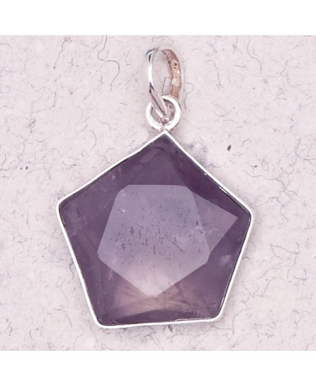 Amethyst 5 Point Prisma Star Pendant at Mystic Convergence Metaphysical Supplies, Metaphysical Supplies, Pagan Jewelry, Witchcraft Supply, New Age Spiritual Store