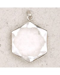 Clear Quartz 6 Point Prisma Star Pendant Mystic Convergence Metaphysical Supplies Metaphysical Supplies, Pagan Jewelry, Witchcraft Supply, New Age Spiritual Store