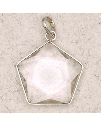 Clear Quartz 5 Point Prisma Star Pendant Mystic Convergence Metaphysical Supplies Metaphysical Supplies, Pagan Jewelry, Witchcraft Supply, New Age Spiritual Store