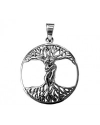 Lovers Tree of Life Sterling Silver Pendant Mystic Convergence Metaphysical Supplies Metaphysical Supplies, Pagan Jewelry, Witchcraft Supply, New Age Spiritual Store