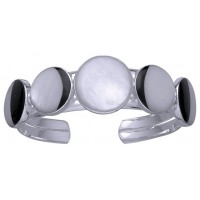 Magick 5 Moon Full Moon  Phases Cuff Bracelet
