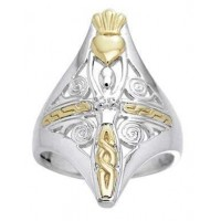 Danu Goddess Sterling Silver Ring