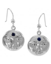 Blue Moon Laurie Cabot Sterling Earrings Mystic Convergence Wiccan Supplies, Pagan Jewelry, Witchcraft Supplies, New Age Store