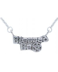 Blessed Be Pentacle Sterling Silver Necklace