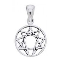 Enneagram Pendant in Sterling Silver