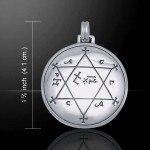 Seal of Solomon Sterling Silver Magical Pendant at Mystic Convergence Metaphysical Supplies, Metaphysical Supplies, Pagan Jewelry, Witchcraft Supply, New Age Spiritual Store