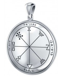 First Pentacle of Jupiter Seal of Solomon for Increased Business Mystic Convergence Metaphysical Supplies Metaphysical Supplies, Pagan Jewelry, Witchcraft Supply, New Age Spiritual Store