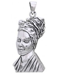 Marie Laveau Voodoo Queen Sterling Silver Pendant Mystic Convergence Metaphysical Supplies Metaphysical Supplies, Pagan Jewelry, Witchcraft Supply, New Age Spiritual Store