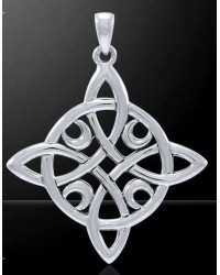 Quaternary Celtic Cross Silver Pendant Mystic Convergence Metaphysical Supplies Metaphysical Supplies, Pagan Jewelry, Witchcraft Supply, New Age Spiritual Store