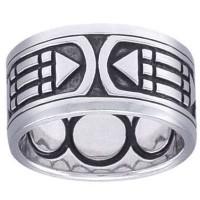 Atlantis Sacred Geometry Band Ring