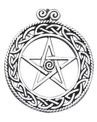 Openwork Pentacle Pendant in Sterling Silver Mystic Convergence Metaphysical Supplies Metaphysical Supplies, Pagan Jewelry, Witchcraft Supply, New Age Spiritual Store