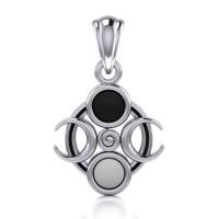 Magick Moon Silver Pendant
